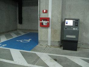 Selektívny vstup na vybrané parkovacie podlažia
