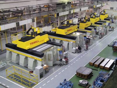 Trimill stroje